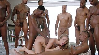 BLACKED Lena Paul very first..