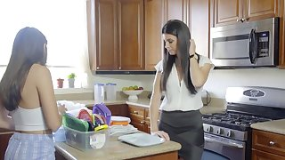 Step-Mom India Summer Caught..