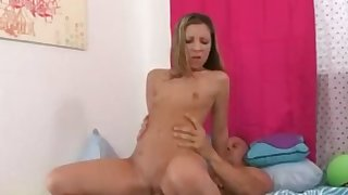 Sasha gets her pussy pounded..
