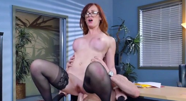 Dani Jensen gets pounded at..