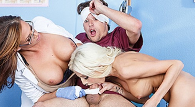 Male nurse gets punished by..